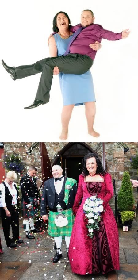 4 - فيليكس لاوس و هيلين مورفيت: الرجل الذي اعتاد ان يكون امرأة يتزوج امرأة اعتادت أن تكون رجلاً !